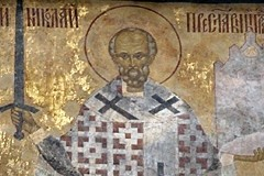 Освящена икона святителя Николая на Никольской башне Кремля