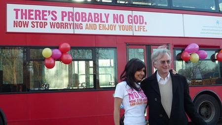 """Знаменитая британская кампания наружной рекламы: """"Возможно, Бога нет"""""""