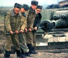 В отсутствие военных действий его основным занятием будет либо боевая, либо физическая подготовка