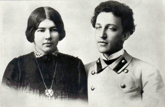 Александр Блок и Любовь Менделеева. 1903