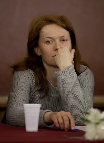 Юлия Сысоева. Вечер памяти отца Даниила. Фото Юлии Маковейчук