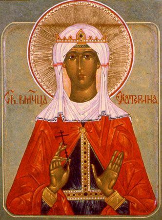 Святая великомученица Екатерина. Икона 4