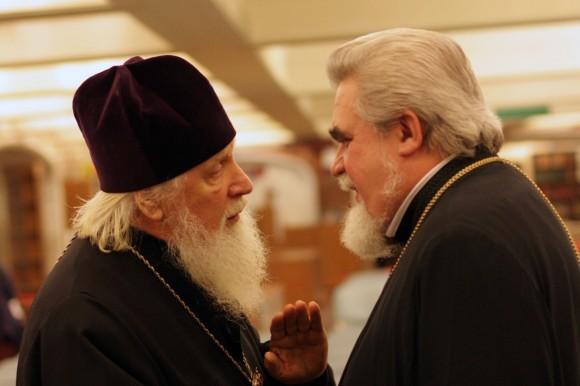 Архимандрит Иероним (Карпов) и протоиерей Николай Соколов