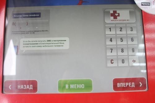 В открывшемся окне вводим номер телефона для того, чтобы Qiwi мог уведомить о прохождении оплаты