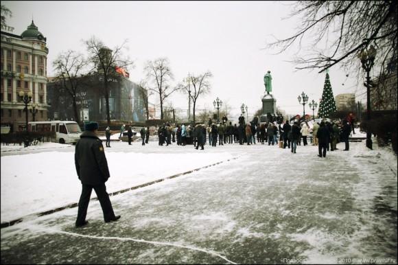 Митинг против передачи имущества Церкви 19.12.2010