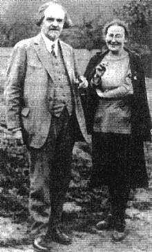 Мать Мария и Н. Бердяев, 1938