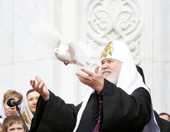 Святейший Патриарх Алексий. Благовещение