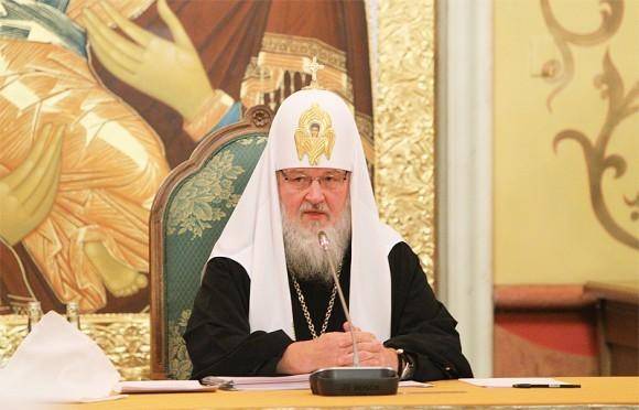 Председатель президиума Межсоборного присутствия - Патриарх Московский и всея Руси Кирилл