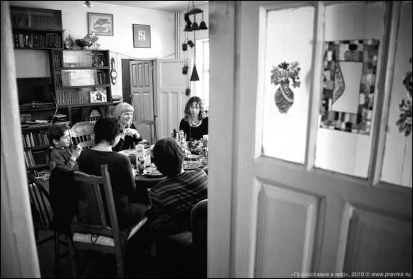 В гостях у Вигилянских накануне Страстной (ВИДЕО)