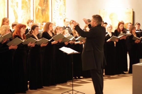 Выступление Московского Синодального хора