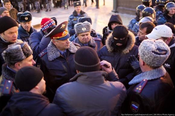 Переговоры на Манежной площади