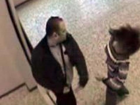 Кадр видеоролика предыдущего инцидента в Петербурге