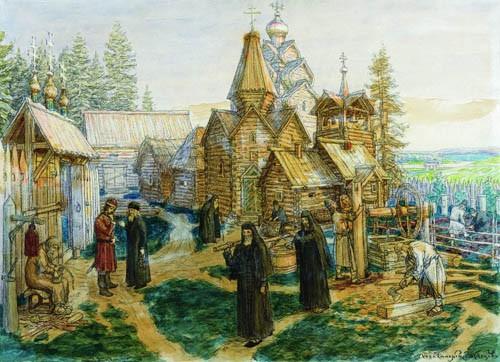 Васнецов Аполлинарий Михайлович Троице-Сергиева лавра (1908-1913)