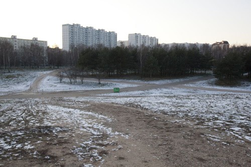 Тот самый Москворецкий парк (общей площадью 200 гектаров), на территории которого планируется строительство храмового комплекса в честь 2000-летия Рождества Христова (под строительство выделена площадка примерно 1.6 гектара)