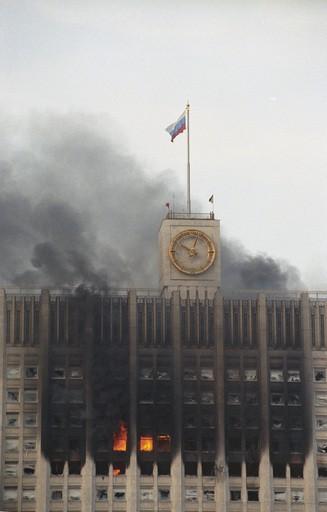 Белый дом. 1993. Фото РИА Новости