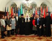 Встреча патриарха Кирилла с молодежной делегацией Русской Зарубежной Церкви