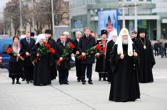 Визит Святейшего Патриарха Кирилла в Екатеринодарскую епархию