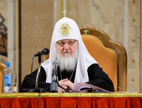 Выступление Святейшего Патриарха Кирилла на Епархиальном собрании