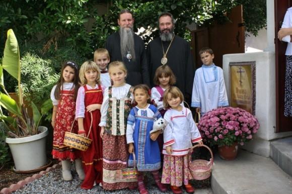 С архиепископом Сан-Францисским и Западно-Американским Кириллом (РПЦЗ) в Сан-Диего