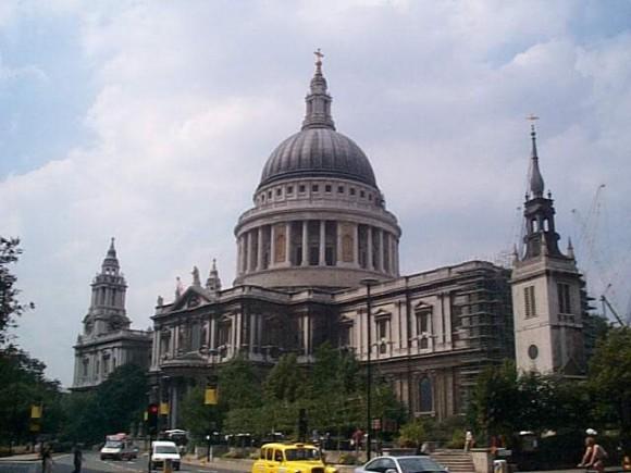Главный англиканский храм - собор святого Павла в Лондоне
