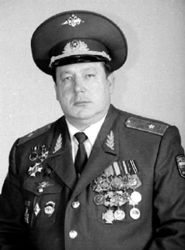 Генерал В. В. Усманов