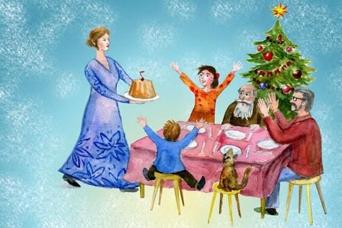 Рождеством заканчивается многодневный Филиппов пост, и начинаются почти двухнедельные Святки — время, когда посты по средам и пятницам отменяются.