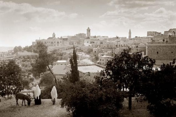 Вифлеем в 1898 г.