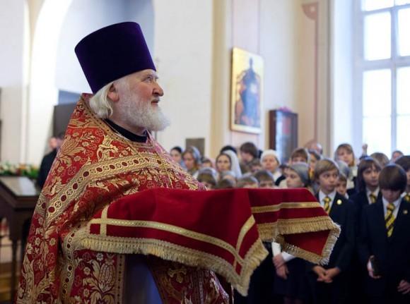 Протоиерей Владимир Воробьев, ректор Православного свято-Тихоновского университета