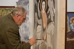 Как делают фрески?