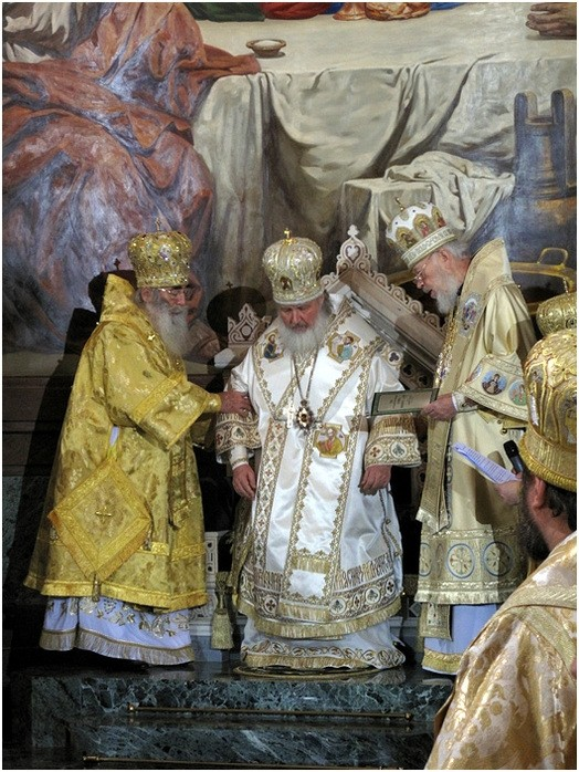 Настолование Патриарха Кирилла. Фото: Михаил Моисеев