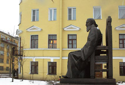 Памятник святому праведному Иоанну Кронштадтскому