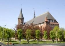 Здание бывшего католического храма в Калининграде