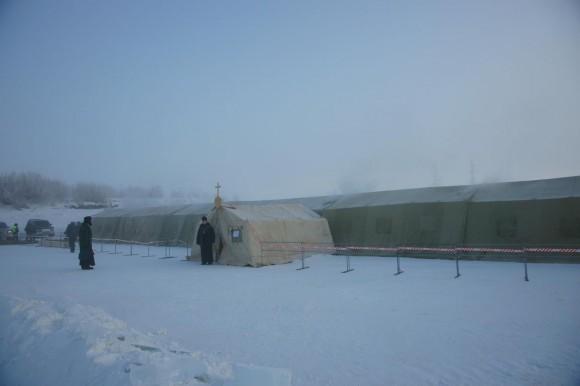 Палатка над иорданью