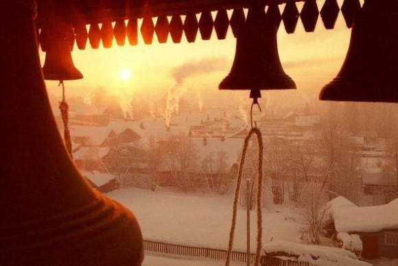 Крещенские морозы. Фото архиепископа Вологодского и Великоустюжского Максимилиана