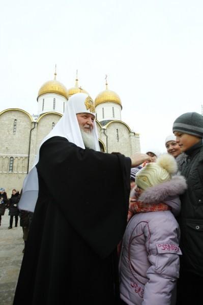 Патриаршее служение в день памяти святителя Петра, митрополита Московского