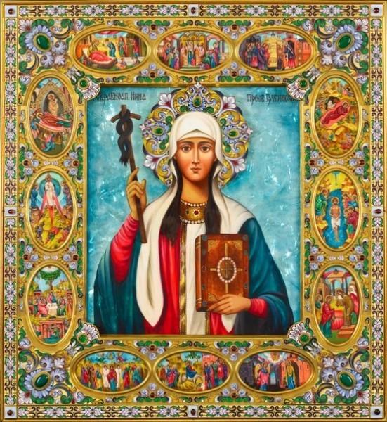 Святая равноапостольная Нина: иконы