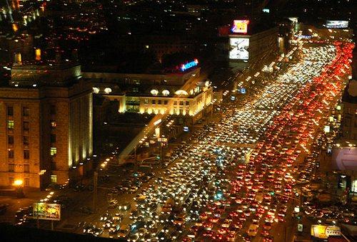 Пробки в Москве и области сейчас