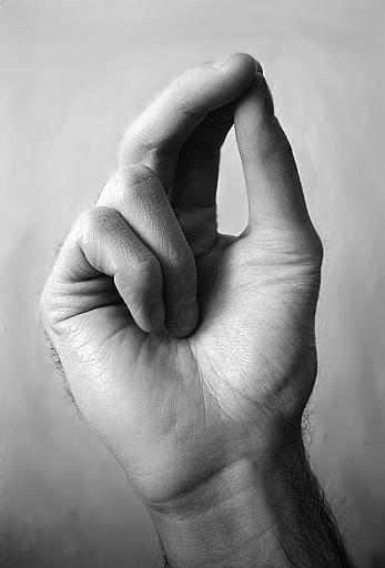 как правильно держать пальцы чтобы перекреститься
