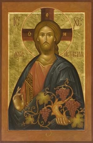 Икона «Иисус Христос – Лоза Истинная»