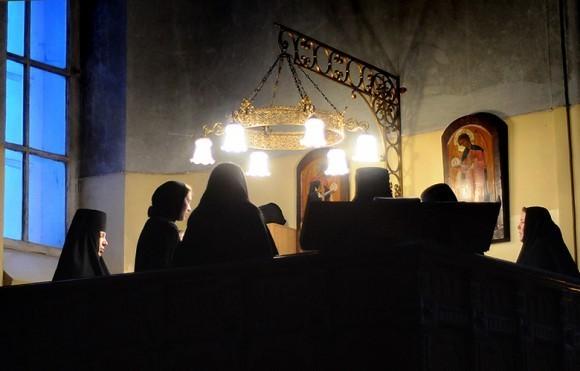 Монастырский чин прощения