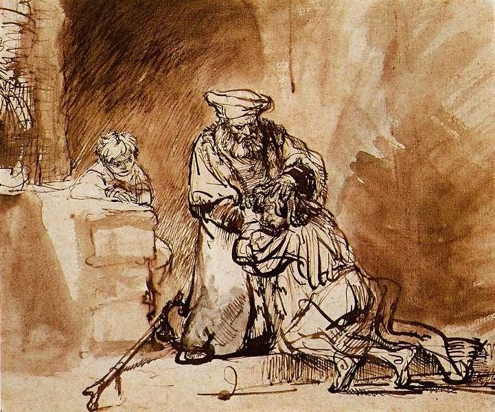 """Рембрандт, """"Блудный сын"""", 1642 год Как научиться прощать?"""