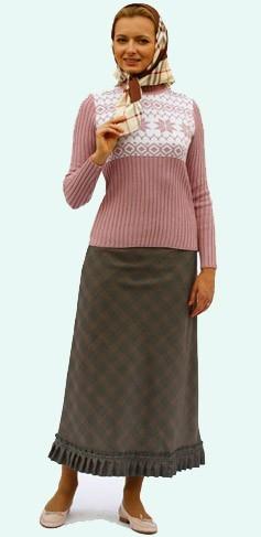 Православие юбка