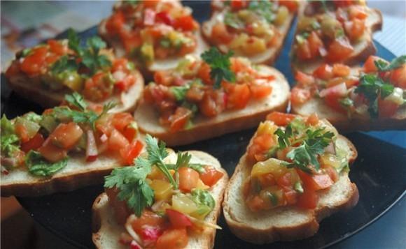Рецепты постных блюд - бутерброды
