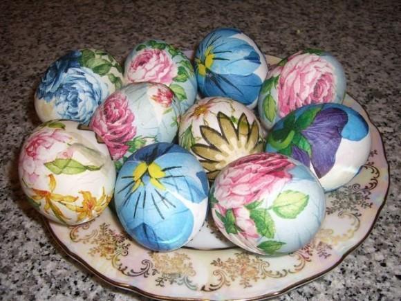 Пасхальные яйца - роспись