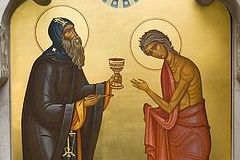 Святая Мария Египетская — иконы жития