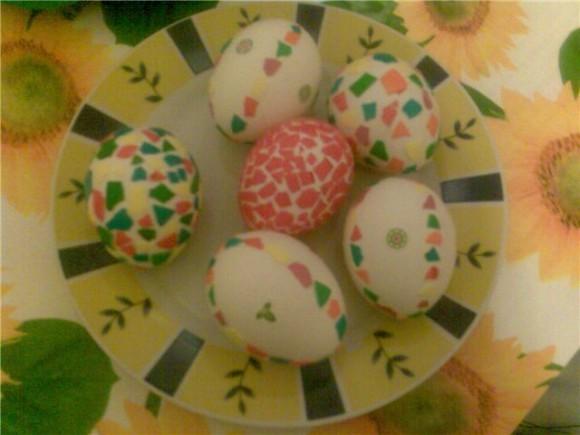 Пасхальные яйца - украшение