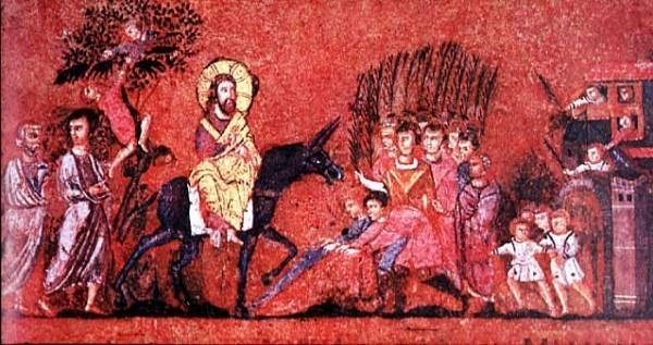 Вход Господень в Иерусалим: что изображено на иконе?