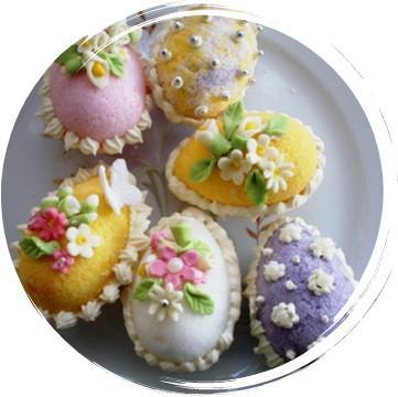Когда заготовки пасхальных поделок готовы, можно приступать к украшению сахарных пасхальных яиц , но сначала стоит...