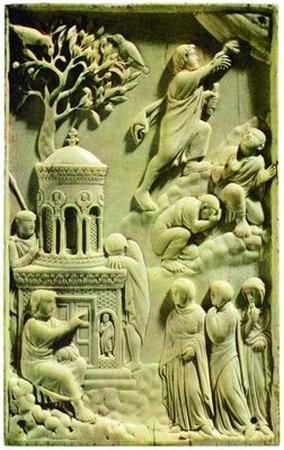 Восстание из Гроба. ок. 400 г. Баварский национальный музей, Мюнхен