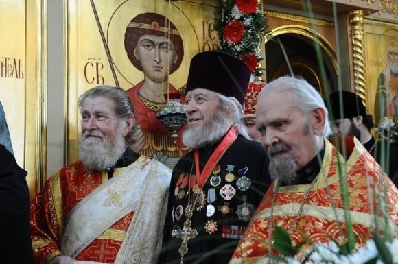 Денб Георгия Победоносца, служение на Поклонной горе с Патриархом. Фото patriarchia.ru